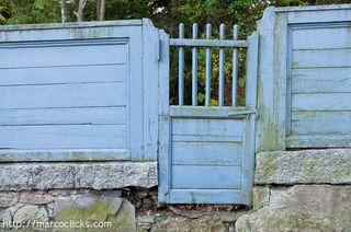 Wall and Door, Brookline, 2010